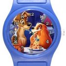 Lady and the Tramp Blue Plastic Watch