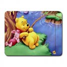 Winnie The Pooh Fishing Heat-Resistant Mousepad