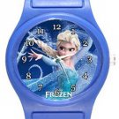 Powerful Queen Elsa Frozen Blue Plastic Watch