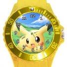 Pikachu Plastic Sport Watch In Yellow