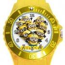 Love Minions Plastic Sport Watch In Yellow