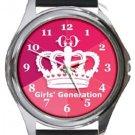 Girls Generation Round Metal Watch