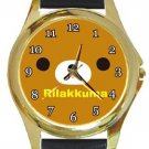 Rilakkuma Gold Metal Watch