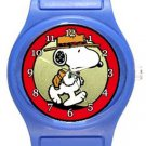 Snoopy Scout Blue Plastic Watch