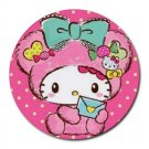 My Melody Heat-Resistant Round Mousepad