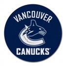 Vancouver Canucks Heat-Resistant Round Mousepad