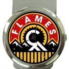 Calgary Flames Money Clip Watch