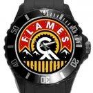 Calgary Flames Plastic Sport Watch In Black
