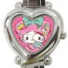 Hello Kitty Heart Italian Charm Watch