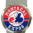 Montreal Expos Money Clip Watch