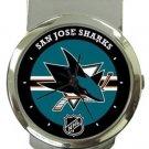 San Jose Sharks Money Clip Watch