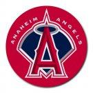 Anaheim Angels Baseball Heat-Resistant Round Mousepad