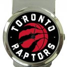 Toronto Raptors Money Clip Watch