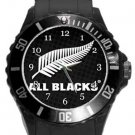 All Blacks Plastic Sport Watch In Black