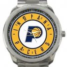 Indiana Pacers Sport Metal Watch