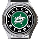 Dallas Stars Round Metal Watch