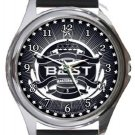 Beast Kpop Band Round Metal Watch