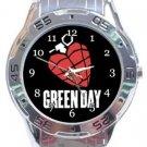 Green Day Analogue Watch