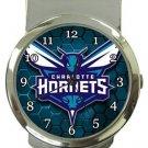 Charlotte Hornets Money Clip Watch