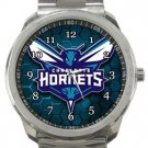 Charlotte Hornets Sport Metal Watch