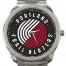 Portland Trail Blazers Sport Metal Watch