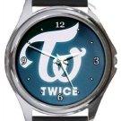 Twice Kpop Band Round Metal Watch