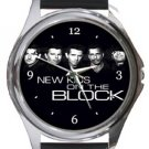 New Kids On The Block Round Metal Watch