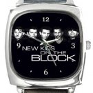 New Kids On The Block Square Metal Watch
