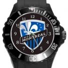 Montreal Impact Plastic Sport Watch In Black