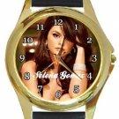 Selena Gomez Gold Metal Watch