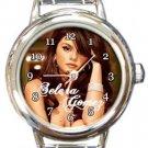 Selena Gomez Round Italian Charm Watch