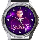 Drake Round Metal Watch
