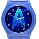 Star Trek Logo Blue Plastic Watch