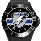 Tampa Bay Lightning Plastic Sport Watch In Black