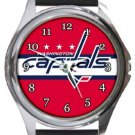 Washington Capitals Round Metal Watch