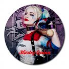 Harley Quinn Heat-Resistant Round Mousepad