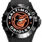 Baltimore Orioles Plastic Sport Watch In Black