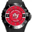 New Jersey Devils Plastic Sport Watch In Black