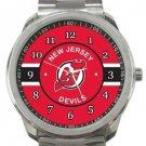 New Jersey Devils Sport Metal Watch