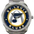 St. Louis Blues Sport Metal Watch