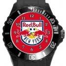 New York Red Bulls Plastic Sport Watch In Black