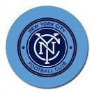 New York City Football Club Heat-Resistant Round Mousepad
