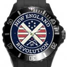 New England Revolution Plastic Sport Watch In Black