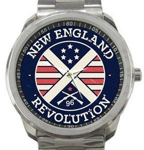 New England Revolution Sport Metal Watch