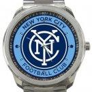 New York City Football Club Sport Metal Watch