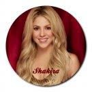 Shakira Heat-Resistant Round Mousepad