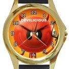 Devilicious Gold Metal Watch