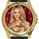 Shakira Gold Metal Watch