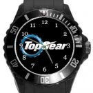 Top Gear Plastic Sport Watch In Black