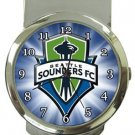 Seattle Sounders FC Money Clip Watch